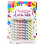 Candle 24pc Relighting  12/288