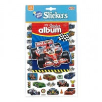 Sticker Album Race Car 12/288