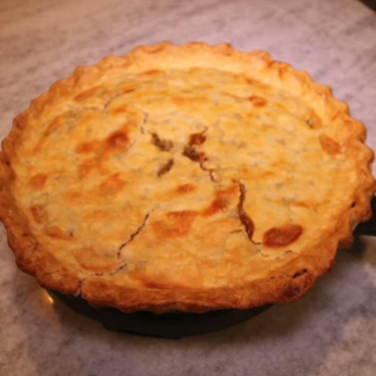 Maddison Grawe's Homemade Venison Pot Pie