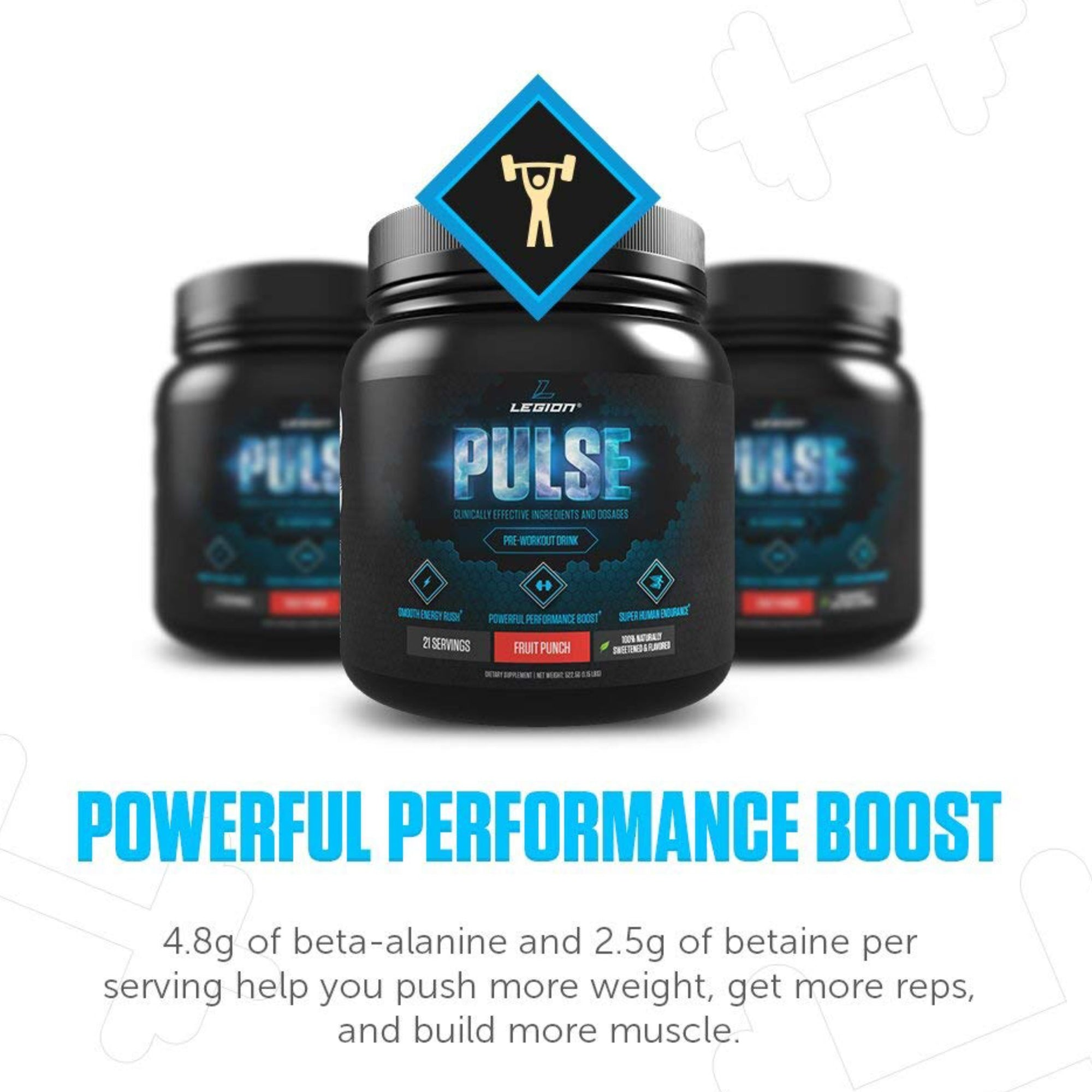 LEGION'S PULSE PRE-WORKOUT, Legion Athletics, Built4TheHunt, Built For The Hunt