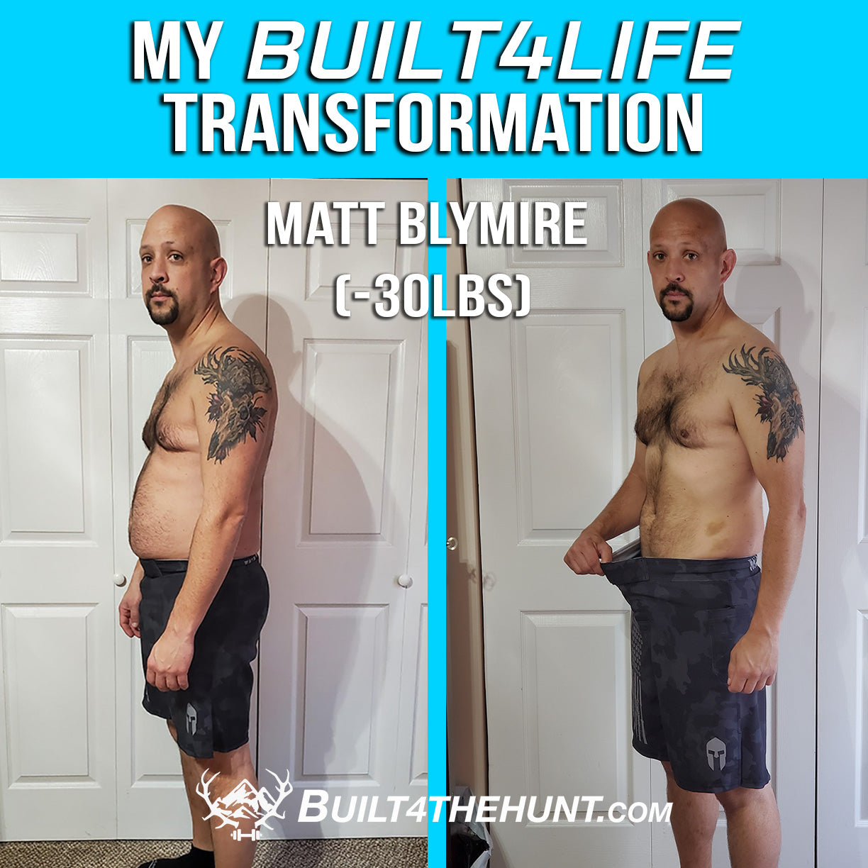 What Is Your Why? - A Built4TheHunt Transformation