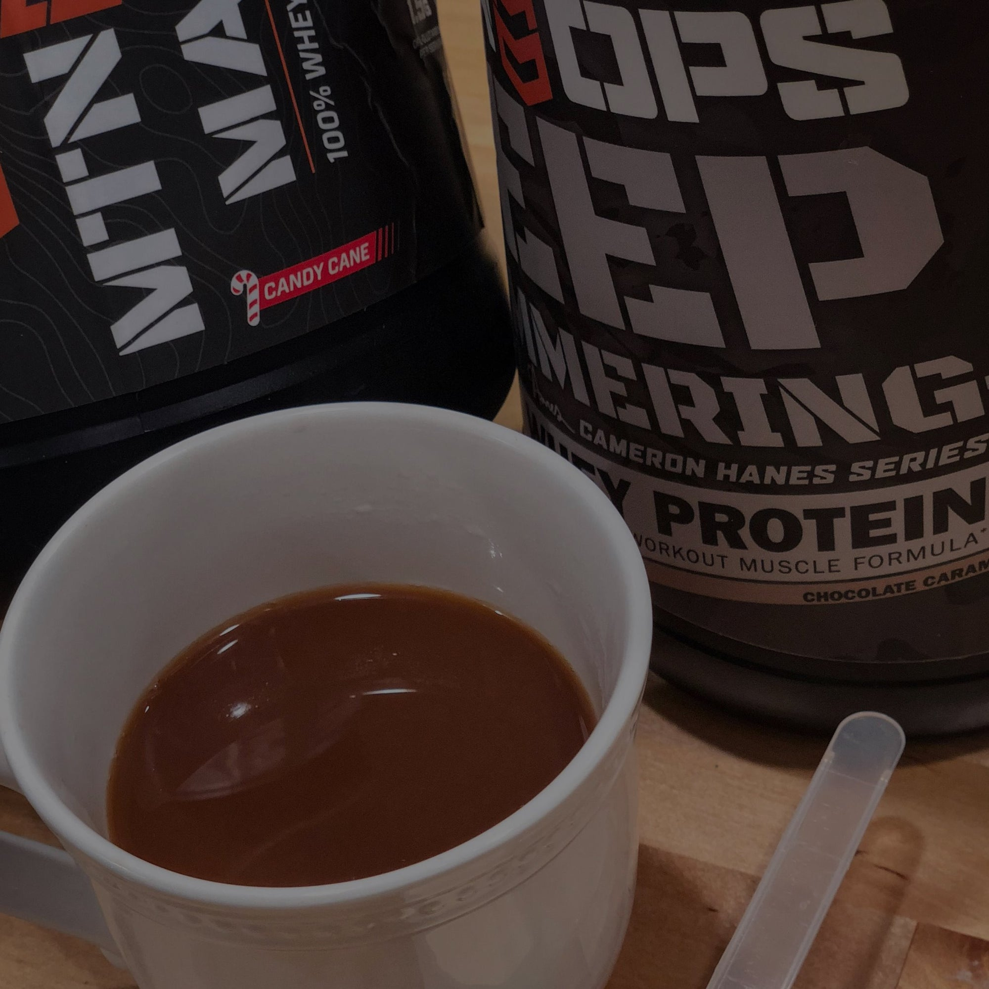 Protein Coffee using Mtn Ops Whey Proteins