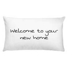 Load image into Gallery viewer, Basic Pillow - Welcome to your new home