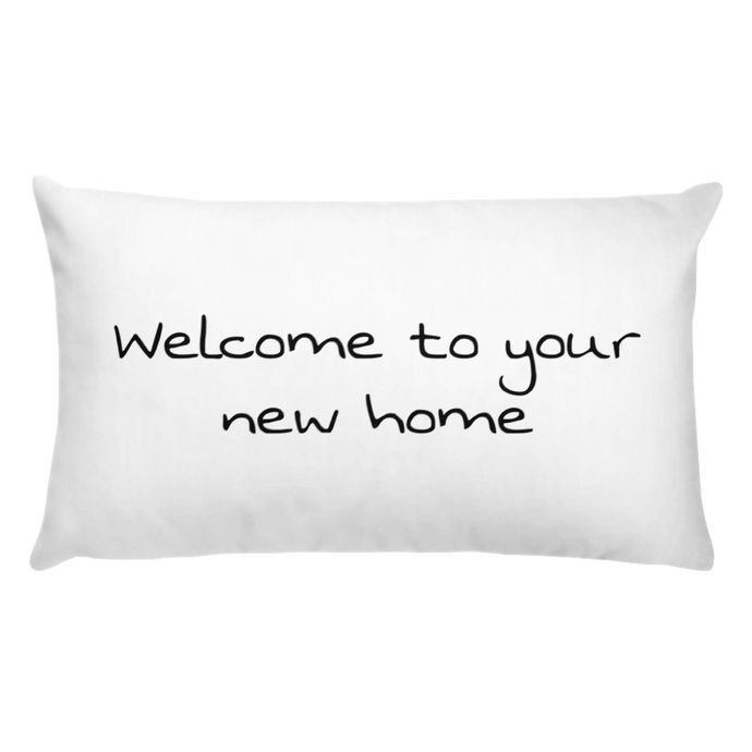 Basic Pillow - Welcome to your new home