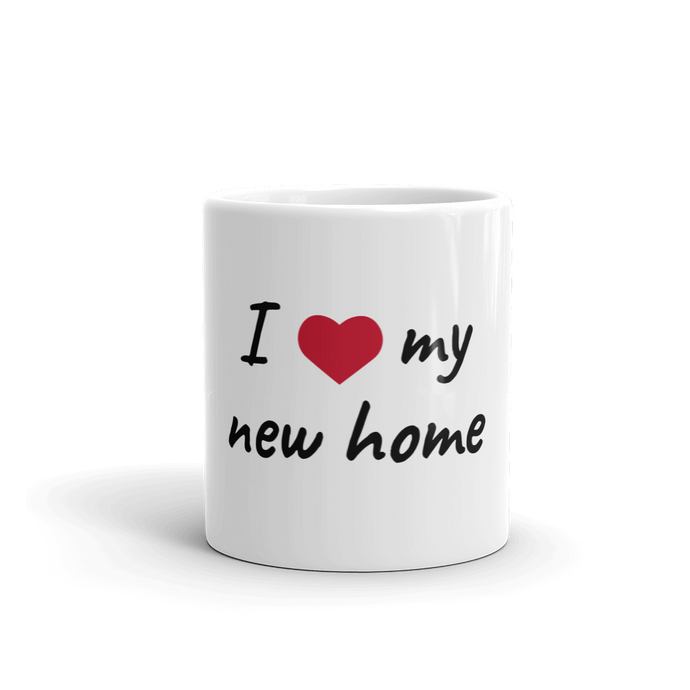 Mug - I love my new home