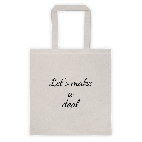 Tote bag - Let's make a deal