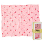 Elephant 100% Organic Cotton Muslin Swaddle
