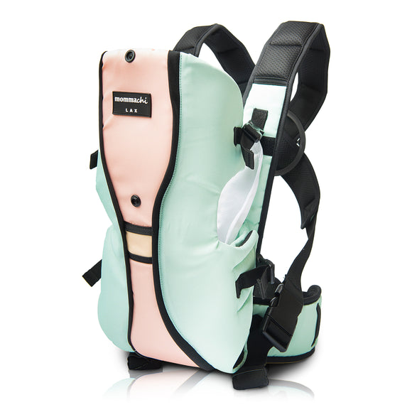 L A X soft baby carrier