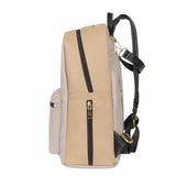 Vegan Leather Diaper Backpack Sandstone