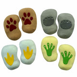 Little Pups Infant Socks Giftbox - Non-skid Animal Footprints