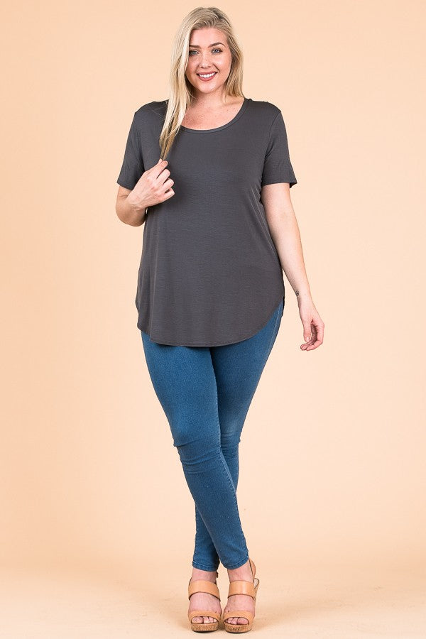 Cap Sleeve Tunic Top