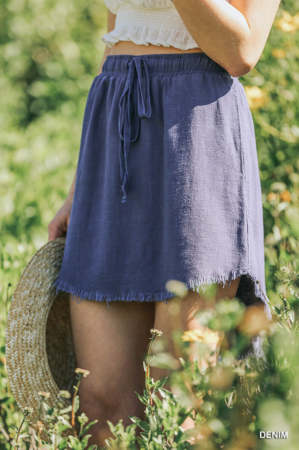 Summer Fringe Skirt