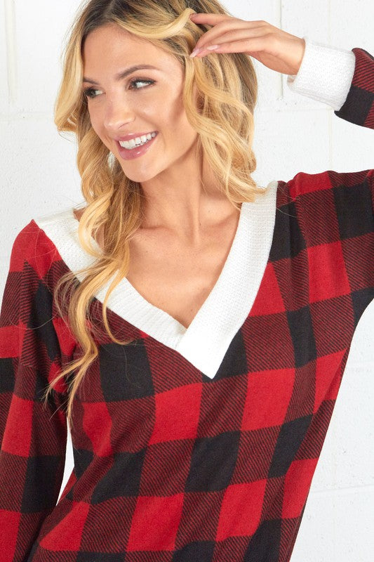 Buffalo Plaid Cutie