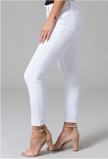 Perfect White Skinnies