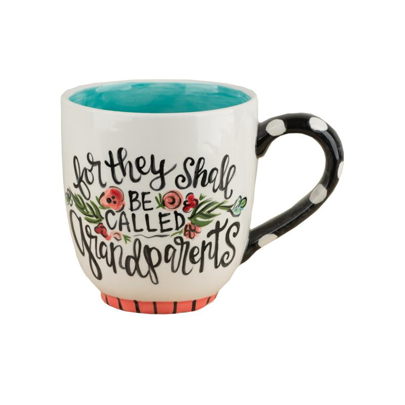 They Shall Be Called Grandparents Mug