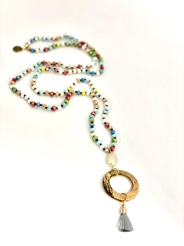 Colors of the Rainbow Necklace