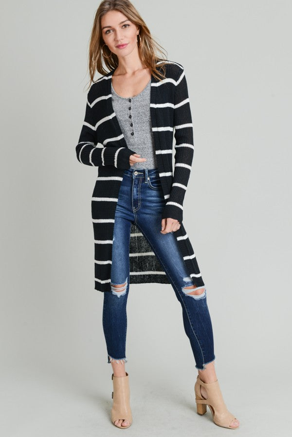 Must Have Striped Cardigan