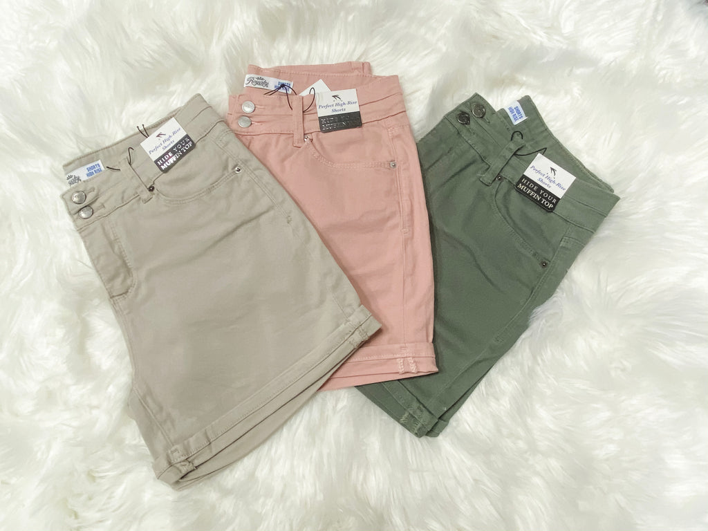 Favorite Summer Colored Shorts