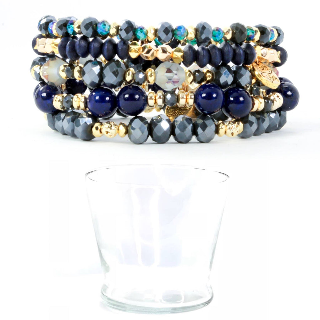 Navy & Blues Stack