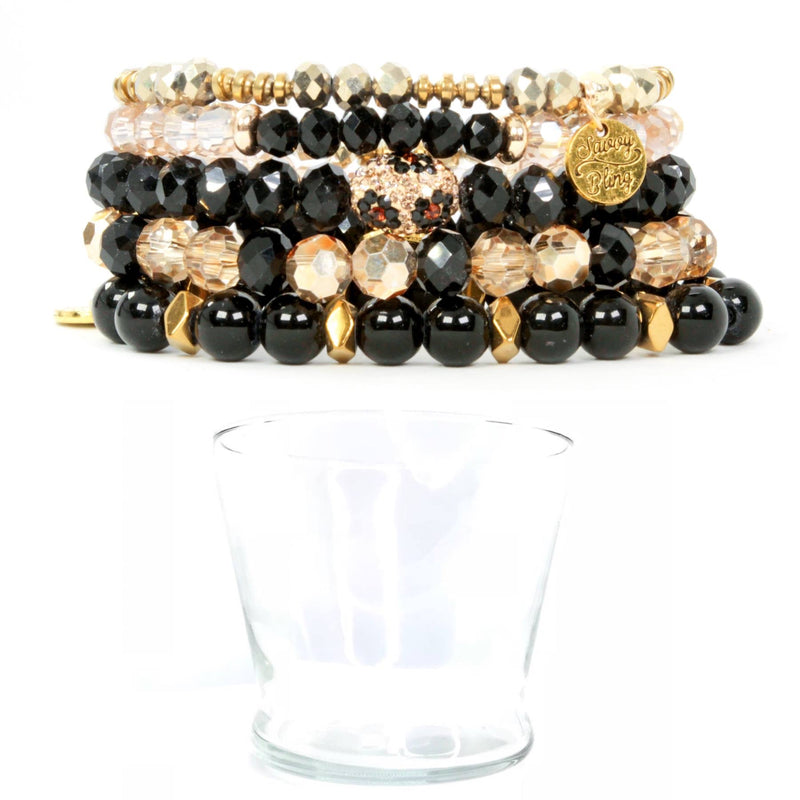 Onyx Leopard Stack