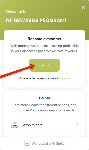 image showing Join Now button