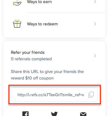 image of referral link