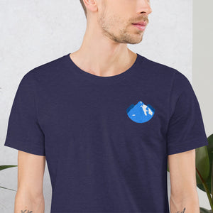 Three Peaks Collection | Embroidered T-Shirt