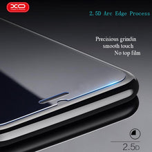 Load image into Gallery viewer, XO Tempered Glass 2.5D for iPhone 8 7 6s plus Thickness 0.1mm 9H Nano coating Premium Screen Protector