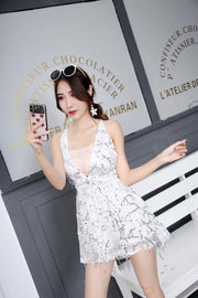 Summer Dress Bodycon Women  Mini Dress
