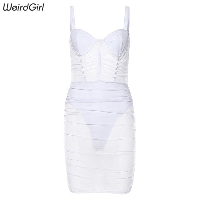 Sexy Dresses Sleeveless strapless Bodycon Dress