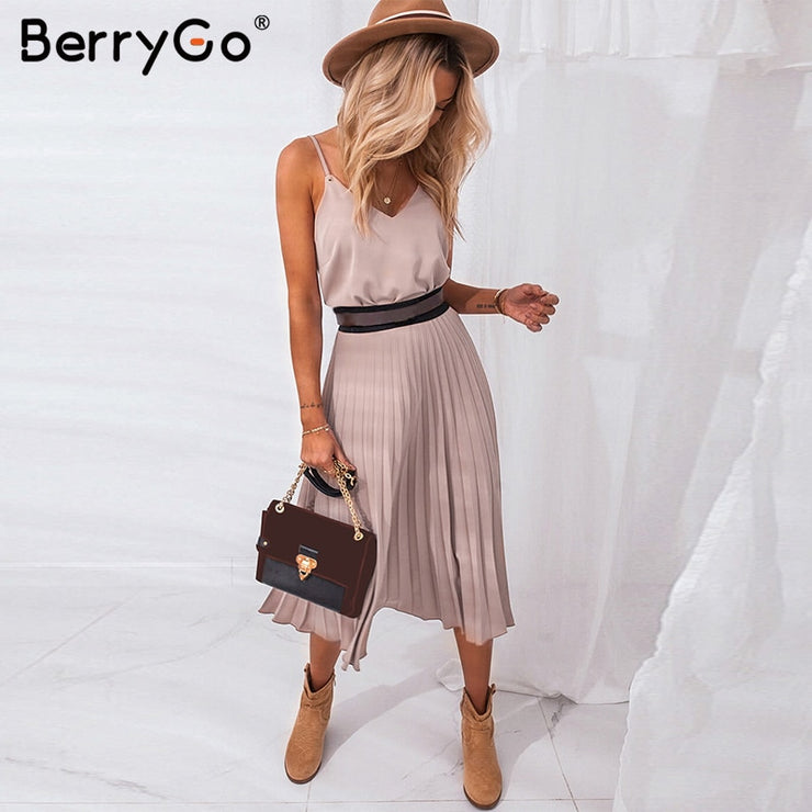 Summer dress womens Casual office ladies