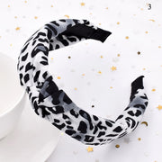 Leopard Pattern Hair Band Snake Animal Print