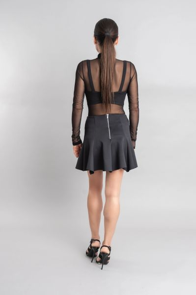 Ashley flared mini skirt