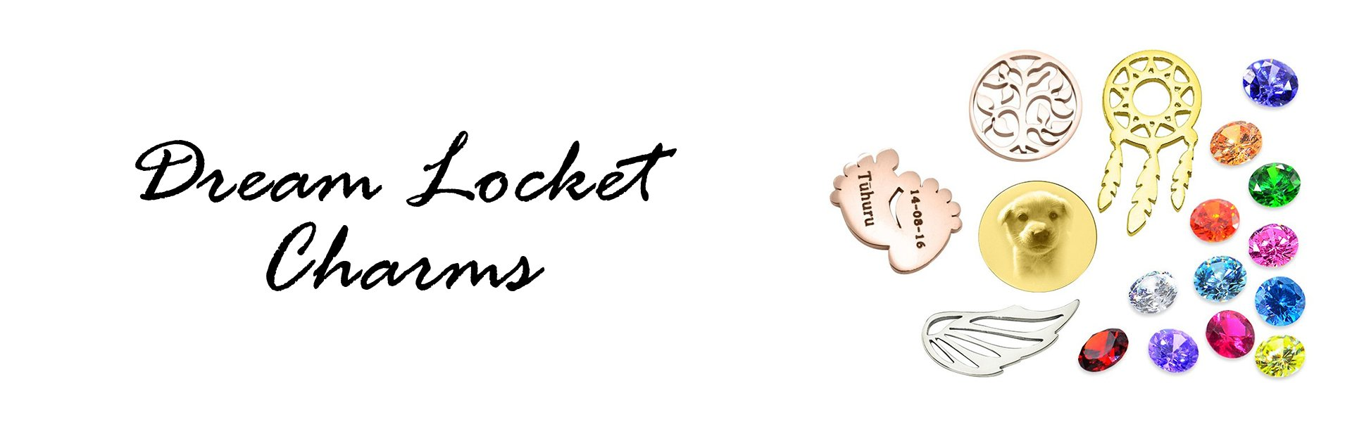 Dream Locket Charms