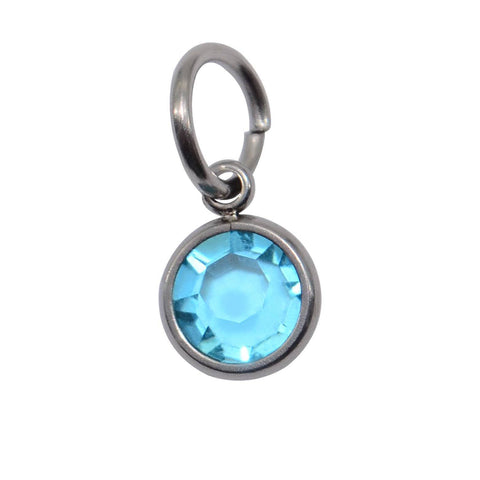 Birthstone Hanging Charm March Belle Fever 1