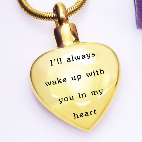 Always Love Canister Necklace Personalized Belle Fever 1