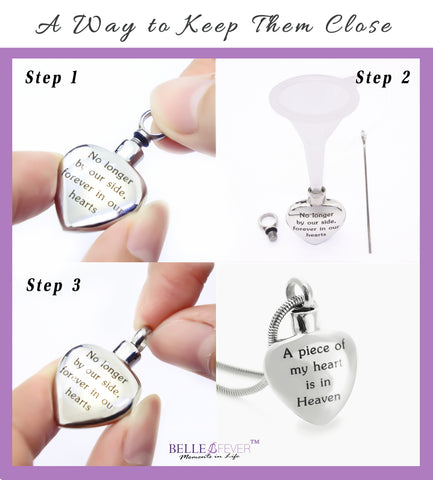 Always Love Canister Necklace Personalized Belle Fever 8