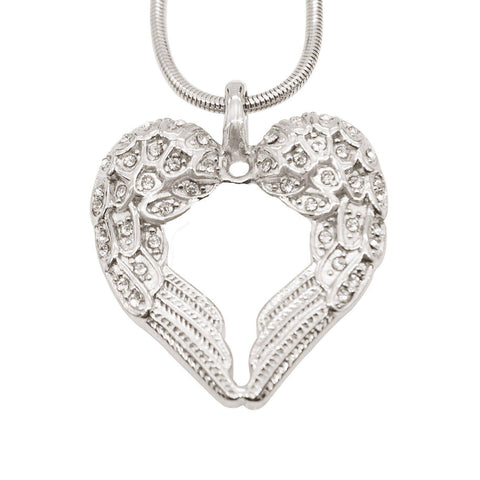 Angels Heart Necklace Silver Belle Fever 2