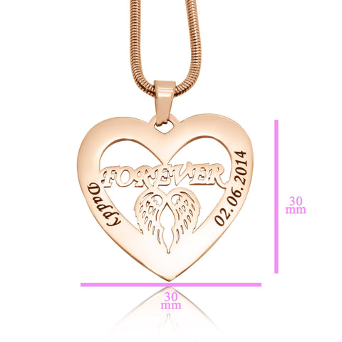 Angel in My Heart Necklace Personalized Belle Fever 6