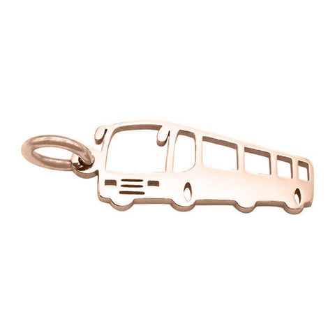 Bus Charm For Keyring Rose Gold Belle Fever 4