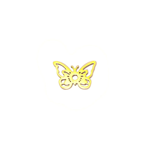 Butterfly Charm For Dream Locket - Gold Belle Fever 3