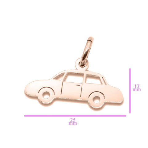 Car Charm for Keyrings - Rose Gold Belle Fever 5