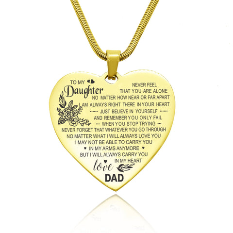 Carry You in My Heart Personalized Necklace Belle Fever 3