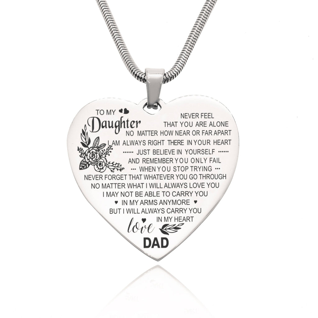Carry You in My Heart Personalized Necklace Belle Fever 2
