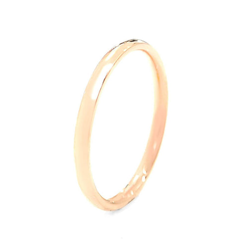 Classic Band Ring Rose Gold Belle Fever 2