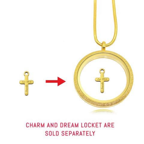 Cross Charm For Dream Locket personalized Belle Fever 6