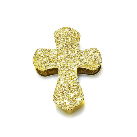 Sparkling Cross Charm for Moments Bracelet Gold Belle Fever 5