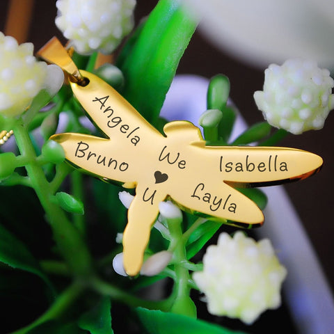 Dragonfly Necklace - Personalized Belle Fever 1