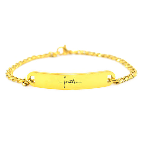 Faith Tag Bracelet