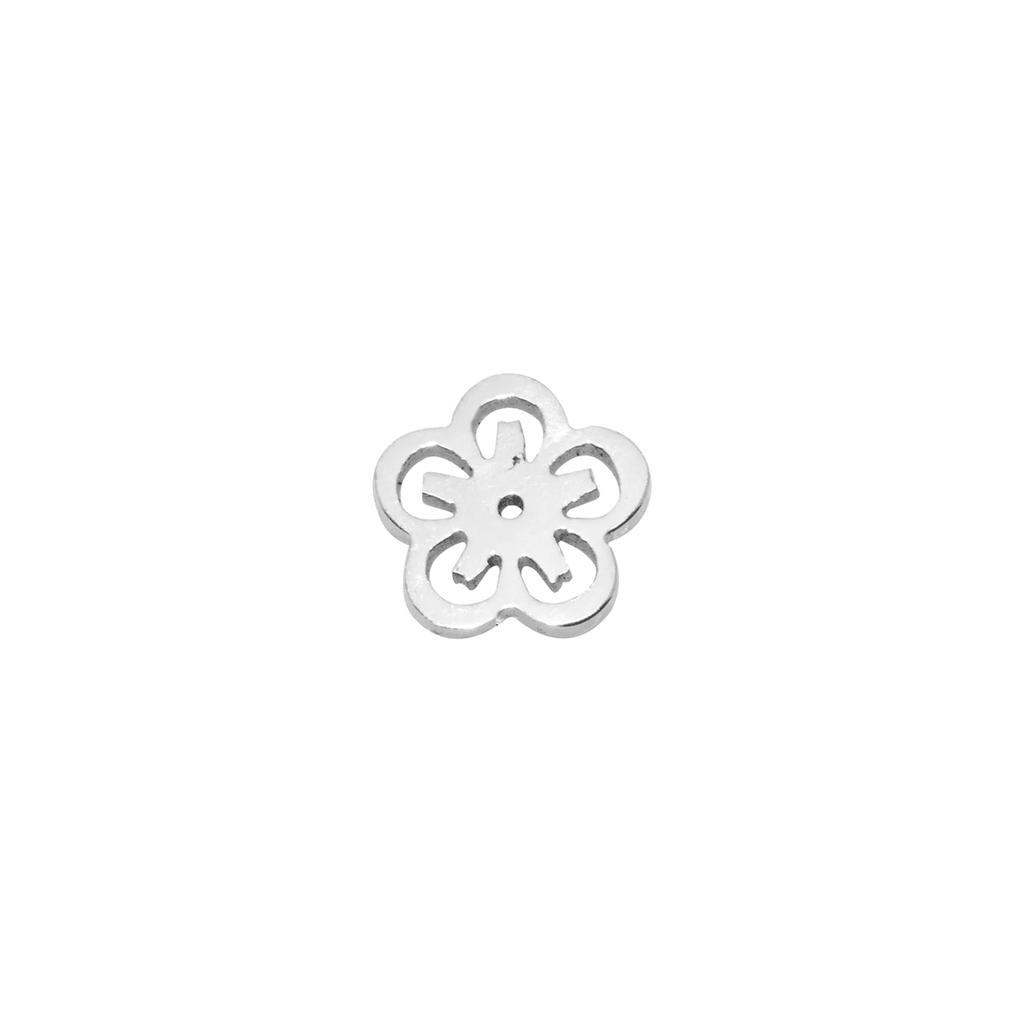 Personalized Flower Charm For Dream Locket Silver Belle Fever 3